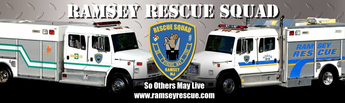 Ramsey Rescue Squad so others may live www.ramseyrescue.com